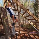 inverted ladder climb