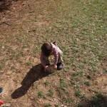 Paxton lifting his rock